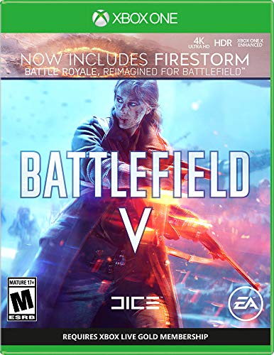 Battlefield V Video Game (Xbox One Digital Code) $5