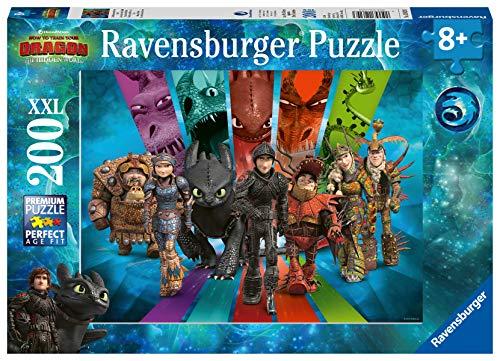 Ravensburger Kinderpuzzle 12629 - Die Drachenreiter von Berk - 200 Teile