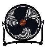 Cecotec Ventilador Industrial EnergySilence 3000 Pro. 3 Aspas Met‡licas de 18' (45cm), 3 Velocidades, Motor de Cobre, Ajustable, Acabado Negro, 100W