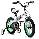 Product Image of the RoyalBaby Boys Girls Kids Bike 16 Inch Buttons Bicycles with Training Wheels...