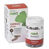 NEO | Extracto de Hojas de Ginkgo 200 mg | 45 Cápsulas Naturales | Para Potenciar y Mejorar la Memoria | Libre de Alérgenos y GMO | Tomar de 1 a 2 Cápsulas a Día | Liberación Rápida