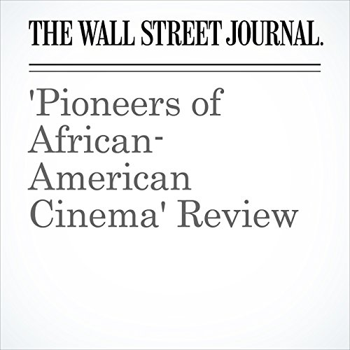 'Pioneers of African-American Cinema' Review cover art