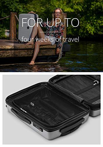 HAUPTSTADTKOFFER - MITTE – Grosse valise à roulettes, Bagage coque rigide avec extension de...