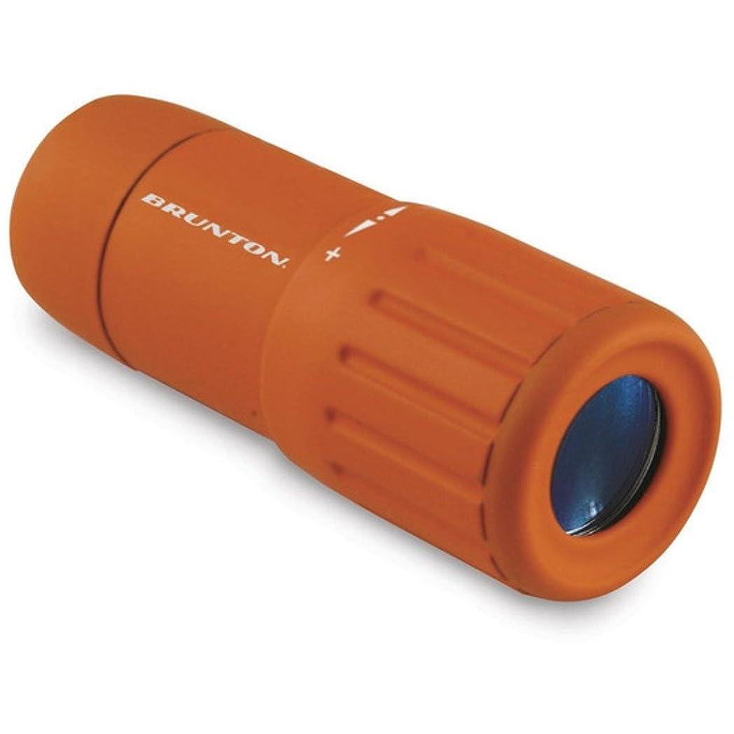 ランダムアブストラクトスポーツブルントン 単眼鏡 ポケットスコープ Echo オレンジ