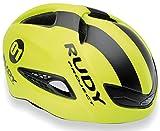 RUDY PROJECT Helmet Boost 01 Yellow Fluo Black Matte L, Unisex Adulto, Amarillo Fluorescente/Negro Mate