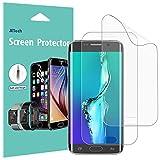 JETech Protector de Pantalla para Samsung Galaxy S6 Edge Plus, Cobertura Complete, Ultra Transpanrente, 2 Unidades