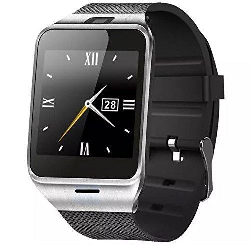 Bluetooth 4.0 Smartwatch V8 1,54 Zoll Touchscreen mutifunktions Handy-Uhr für IOS Android Smartphone