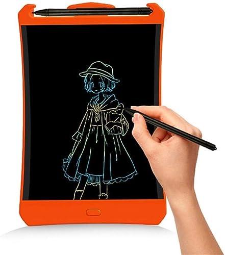 Aerth Tablette d'écriture LCD à Affichage Couleuré de 8,5 Pouces Enfants écrivant et dessinant Un Tableau d'écriture électronique (Couleur   Couleur (Thick Handwriting))