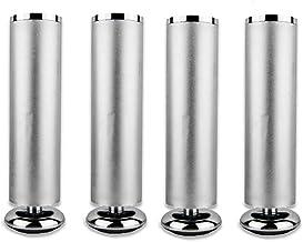 DX Verstelbare zilveren meubelpoot, badkamerkast voetenrek, 4 stuks (kan 300 kg dragen)