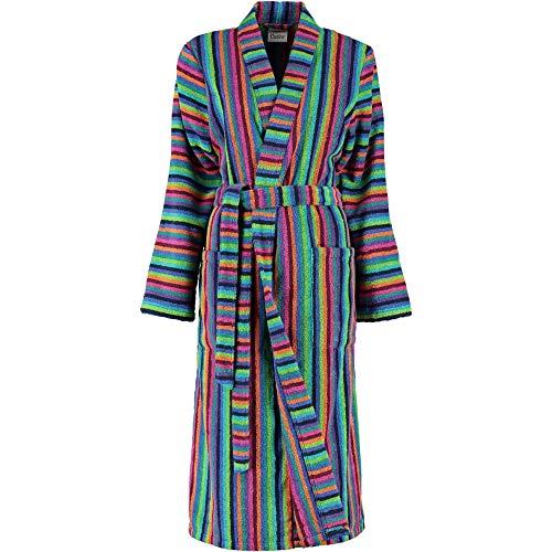 Michaelax-Fashion-Trade Cawö - Damen Walkfrottier Bademantel in Kimono Form (7048), Größe:44/46, Farbe:Multicolor (84)