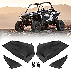 Turbo or S 900 Side by Side UTV Razor Accessories with Strong Zippers and Knee Protection Pads for Model 20014-2019 DOVOTECH Water Repellent Front Door Bags for Polaris RZR 1000 XP accessories S