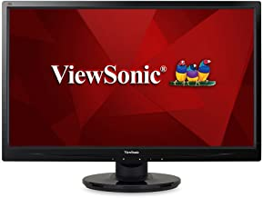 ViewSonic VA2246M-LED 22 Inch Full HD 1080p LED Monitor with DVI and VGA Inputs,Black