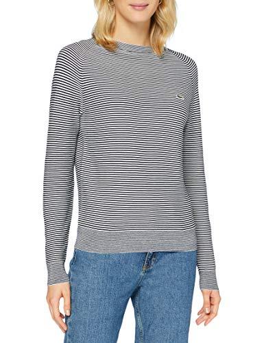 Lacoste Af2402 Suéter, Marine/Farine, 44 para Mujer