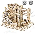 ROKR 3D Assembly Mechanical Wooden Puzzle 260-Piece Rollercoaster