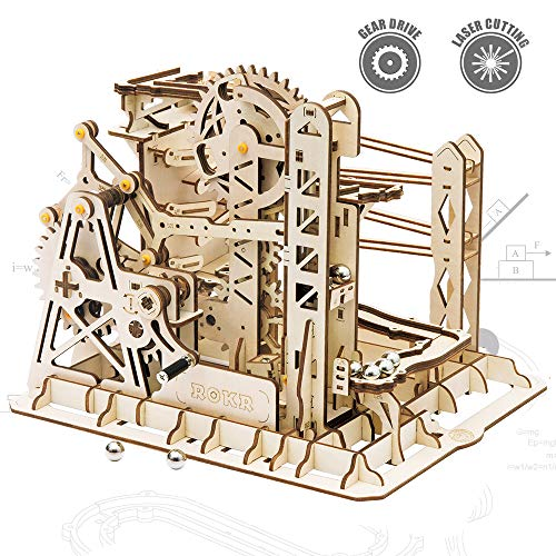 ROKR 3D Assembly Wooden Puzzle Brain Teaser Game Mechanical...