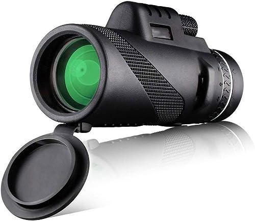AJZGF Télescope extérieur Haute Puissance monoculaire télescope Noir à Film Vert Haute définition