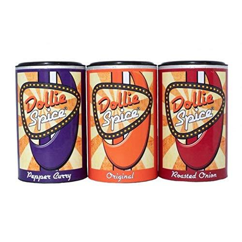 Dollie Spice 3er Pack! Original, Pepper Curry, Roasted Onion, Die Gewürze von Dollie Sauce!