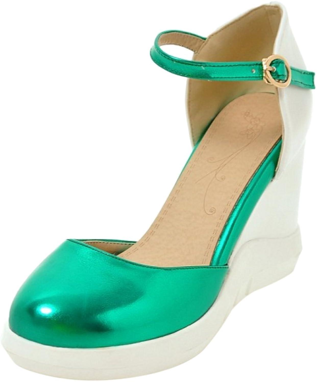 Cular Acci Women Wedge Heel Sandals Buckle