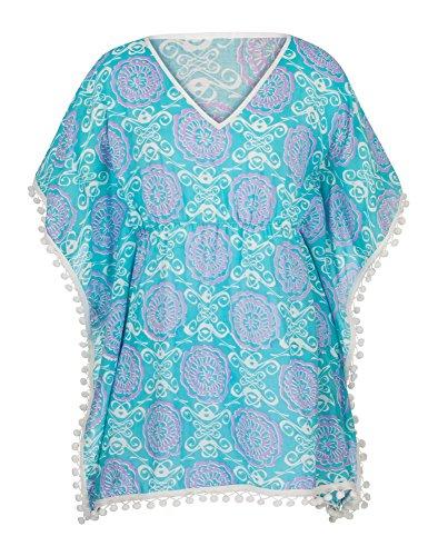 Snapper Rock meisjes Batwing tuniek zomerjurk voor strand of zwembad badmode 2016 collectie