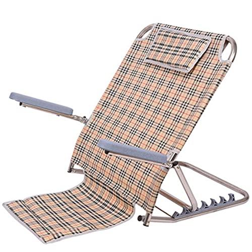 HFAFRZ RüCkenlehne Zusammenklappbar, RüCkenstüTze Mit Verstellbarem Winkel Komfort Bett- Und...