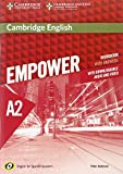 Cambridge English Empower for Spanish Speakers A2 Workbook with Answers, with Downloadable Audio and Video