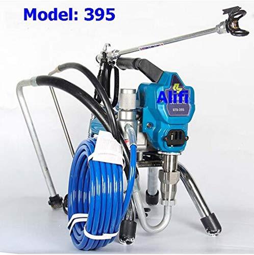 Máquina de pulverización sin aire profesional 1800W 2500 2800W Airless Spray Gun Airless Paint Sprayer 395 495 595 máquina herramienta de pintura,395