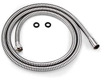 All Metal Shower Hose For Hand Held Shower Heads Brushed Nickel | Extra Long 72 Inch Cord Made With Commercial Grade Stainless Steel | Universal Replacement Part For Handheld Showerhead Hoses