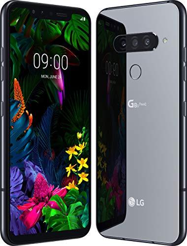 LG G8s smartphone Dual SIM con Z Camera e Tripla fotocamera posteriore, OLED 6.2'' FHD+, IP68, Batteria da 3550mAh, Snapdragon 855 2.84GHz, Memoria 128GB, 6GB RAM, Android 9, Mirror Black [Italia]