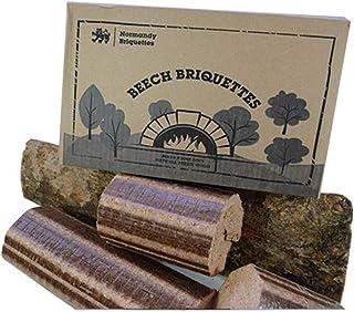 Normandía briquetas de madera de haya 12 kg estufa y Pizza