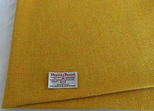 Authentic Harris Tweed Stoff 100% reine Wolle mit Etiketten.. 75cm x 50cm –-Down Jacket...