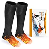 Balhvit Heated Socks for Men Women-Rechargeable Electric Socks, Up to 10 Hours Heating Socks with 3 Heat Settings,...
