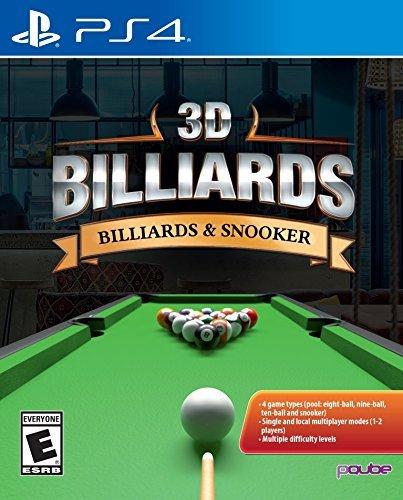 3D Billiards: Billards & Snooker - PlayStation 4