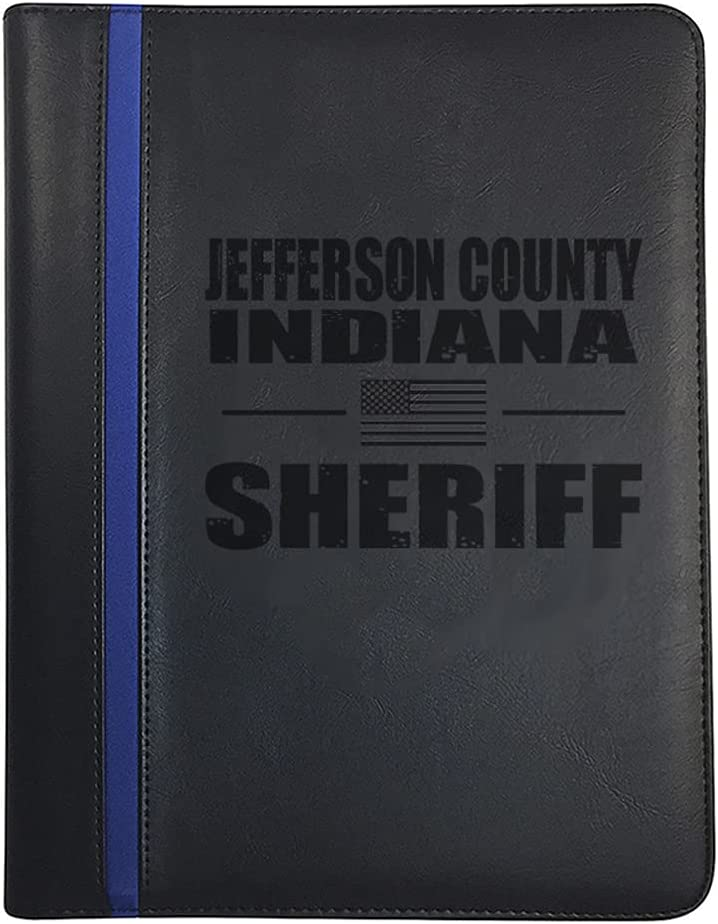 Indiana Jefferson County All Counties No Sheriff Outlet sale feature Padfolio National uniform free shipping Deputy
