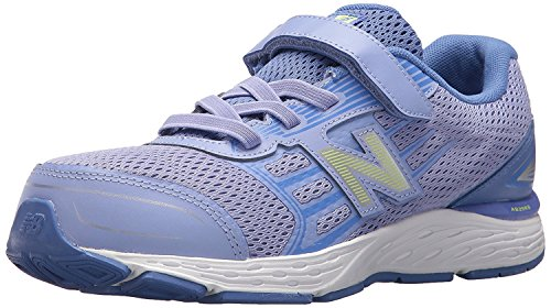 New Balance Kid's 680 V5 Running Shoe, Ice Violet/Twilight,...