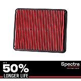 Spectre Essentials Engine Air Filter: Premium, 50-Percent Longer Life: Fits Select 2010-2017 KIA/HYUNDAI (Cadenza, Optima, Sorento, Azera, Sonata, Sonata Hybrid, Santa Fe), SPA-2448