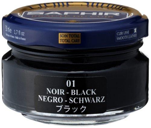 Saphir Creme Surfine Pommadier Shoe Polish 50ml - Black