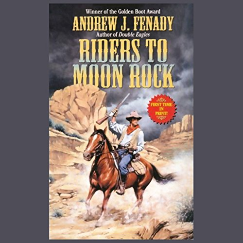Riders to Moon Rock audiobook cover art