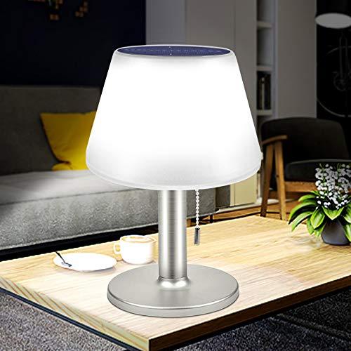 WWWL Lámpara Escritorio Solar Power Escritorio Luz Impermeable lámpara de Mesa Interior al Aire Libre Tres Modo de Trabajo decoración Libro Luces para Dormitorio Bar