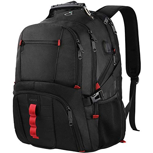 Extra Large Backpack, TSA Friendly Travel Laptop Computer Backpack Gifts for Men Women with USB...