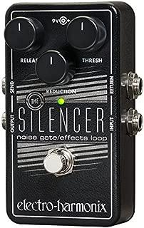 Electro-Harmonix SILENCER Guitar Noise Gate Pedal (Black)