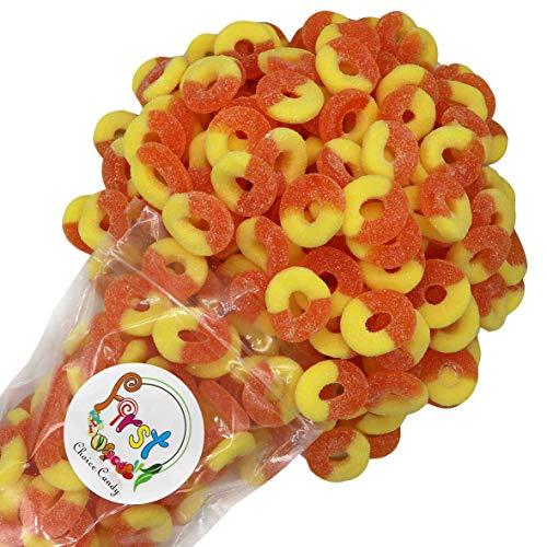 FirstChoiceCandy Gummi Rings (Peach, 1 LB)