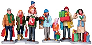 Lemax Village Collection Holiday Shoppers Set of 6 # 92683