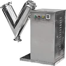 MXBAOHENG New V Type Powder Mixer Particle Blender Powder Mixing Machine 5.6L 5kg VH-14 220 V or 110V