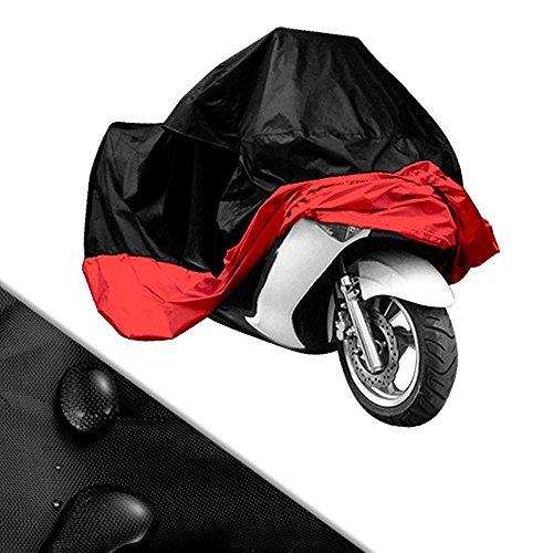 professionnel comparateur Housse de protection vélo vélo / scooter taille XXL rouge noir 270 cm * 145 cm * 125 cm stable choix