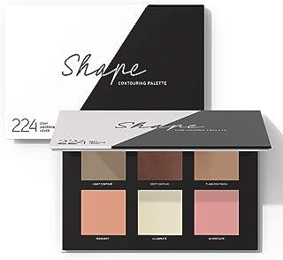 224 Cosmetics Palette per contorno viso : naturale, vegan & non testati sugli animali - feel good formule & senza parabeni...