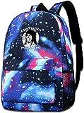 Boys Girls Randy Watson World Tour Galaxy School Backpack