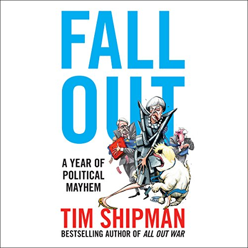 Fall Out: A Year of Political Mayhem audiobook cover art