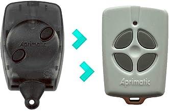 APRIMATIC TX4E compatible con APRIMATIC TX2M - Mando de Garaje Gris - Nuevo Modelo
