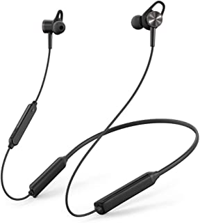 TaoTronics Active Noise Cancelling Bluetooth Headphones Neckband Wireless Headphones with Built-in Magnets, IPX5 Splashproof, 16 Hour Playtime & CVC 6.0 Noise Cancelling Mems Mic