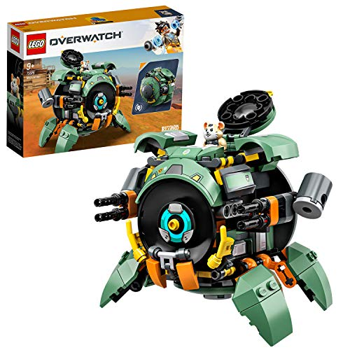 LEGO 75976 Overwatch Wrecking Ball mit Hamster-Figur Hammond,...